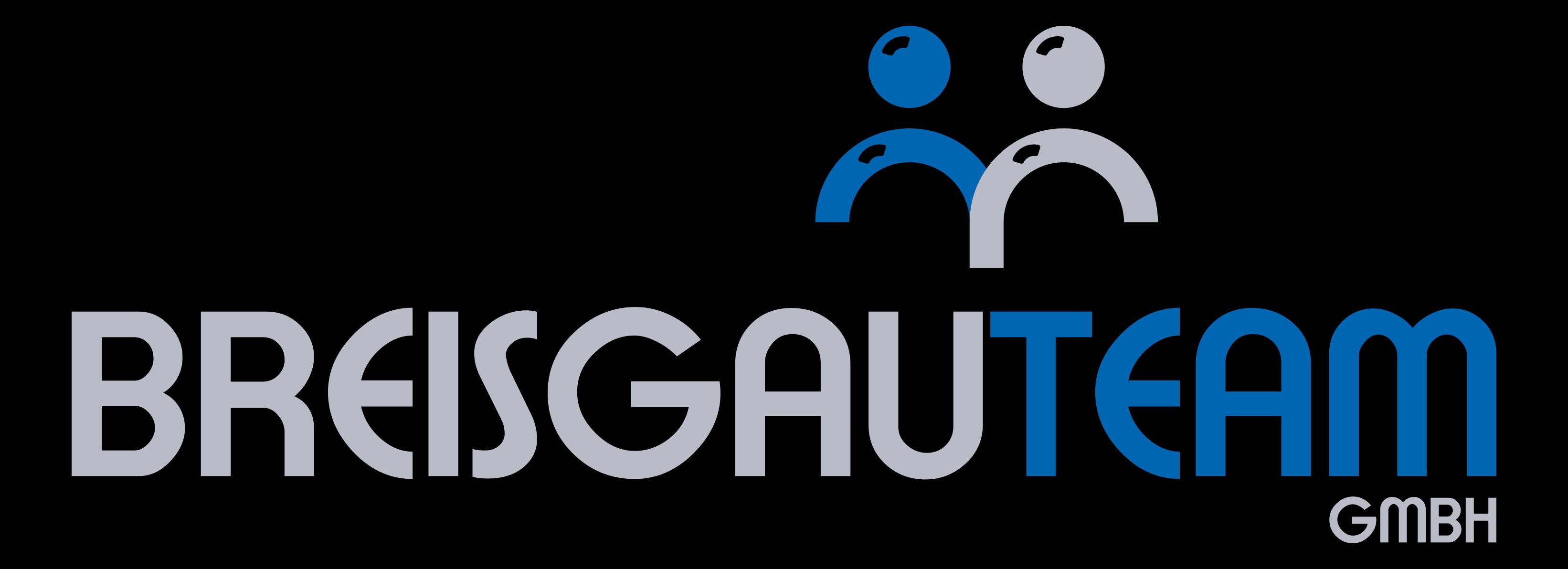 Logo BreisgauTeam Silber Schwarz 300dpi